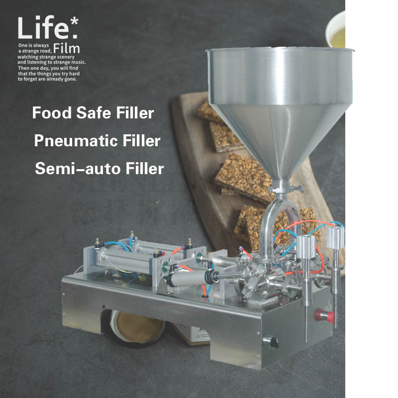 25-250ml Paste Filling Machine More Accurate Oil Filler Liquid Filling Machine, Cream Sorting Filling Machine Bottling Machine
