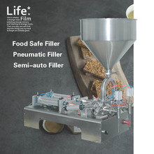 Max. 250ml paste filling machine more accurate oil filler liquid machine, cream sorting bottling