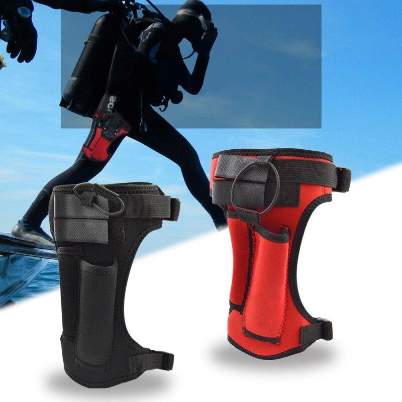 Scuba Diving Equipment Diving Leggings Knife Set Divers Special Portable Adjustable Knife Set Underwater(China)