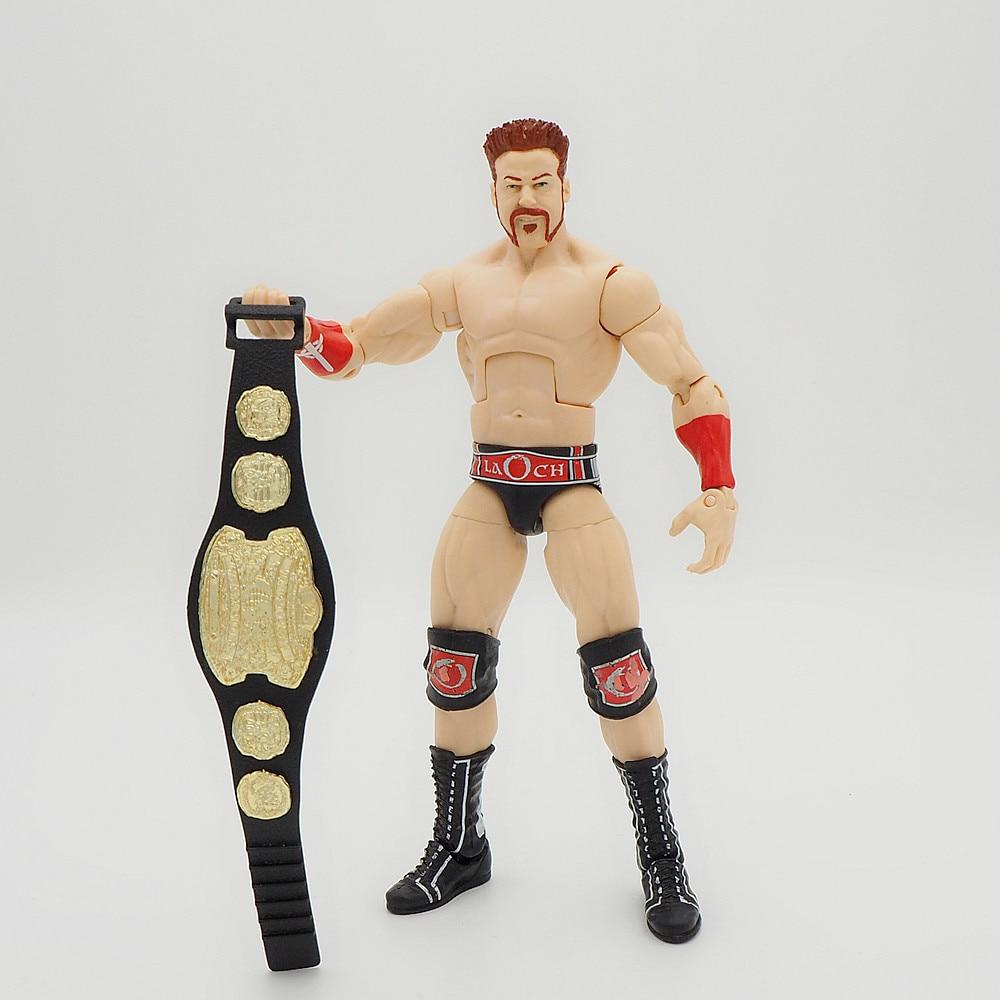 Wrestling gladiators Action figures Wrestler SuperHeroe Kids Gift Toys John Sheamus Belt