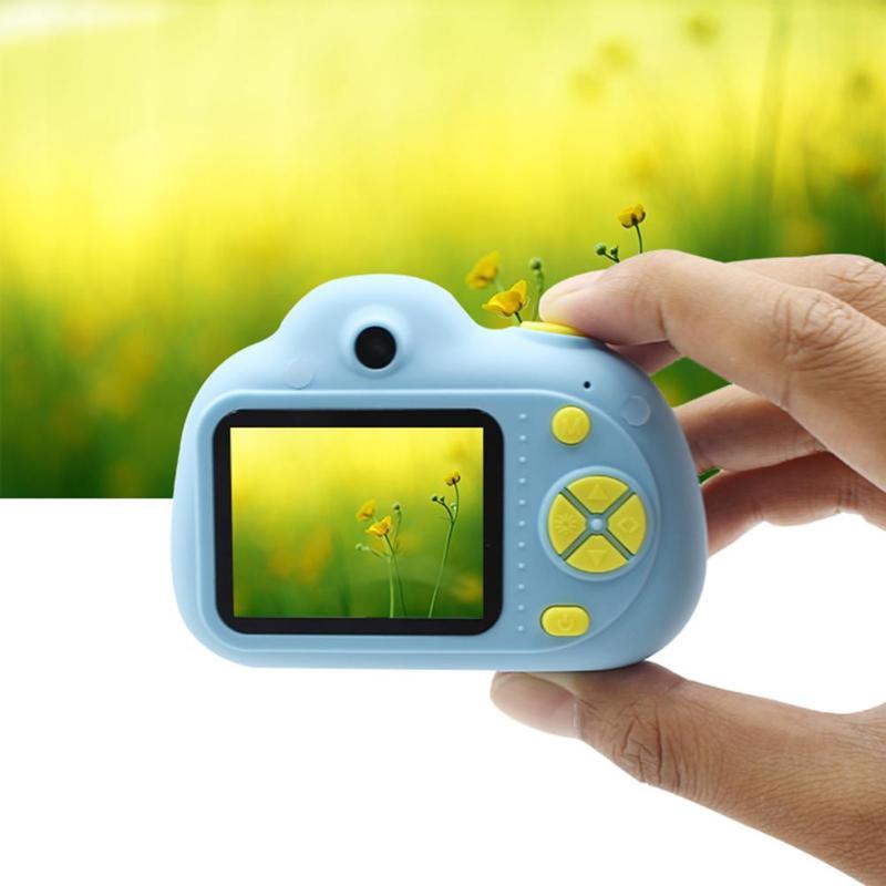 Enfants 2 pouces Mini caméra numérique dessin animé mignon caméra jouets enfants anniversaire photographie cadeaux éducatifs enfant en bas âge jouets caméra