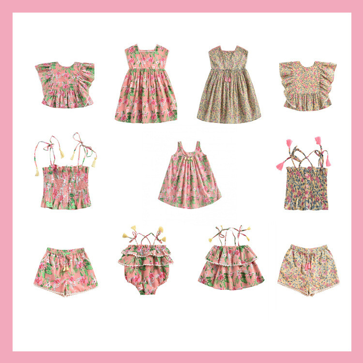 Pre-sale ZMHYAOKE-LM NEW 2020 Summer Baby Girls Clothes Children's Sets Fashion Beach Christmas Boutique Kids Boys Swimsuit