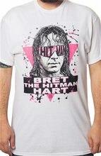 Bret the hitman hart camisa-design personalizado arte rara completa frente da camisa harajuku topos moda clássico camiseta