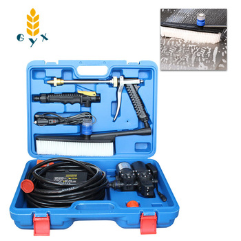 Portable dual-pump car washing machine / Household 220v high pressure car washing machine / Car washing water pump image