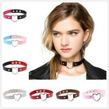 Colar 2019 Special Offer Tin Women Kolye Collares And The South Korea Necklace Multicolor Flocking Love Choker Hot Style