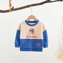 Maluch Boys Baby bluzy kreskówka pies koszulki odzież dziecięca wiosna jesień odzież dla niemowląt chłopiec topy odzież wierzchnia tanie tanio Na co dzień COTTON Pasuje prawda na wymiar weź swój normalny rozmiar Cartoon REGULAR Unisex Pełna