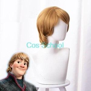 Image 5 - Cos School Frozen 2 Cosplay Wigs Elsa Anna Kristoff Men and Women Wigs Snow Queen Princess Hair Halloween Wig Accessories