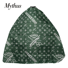 Mythus Barbershop Hairdressing Cape Gown Waterproof Polyester Hairdresser Professional Hair Salon For Barber
