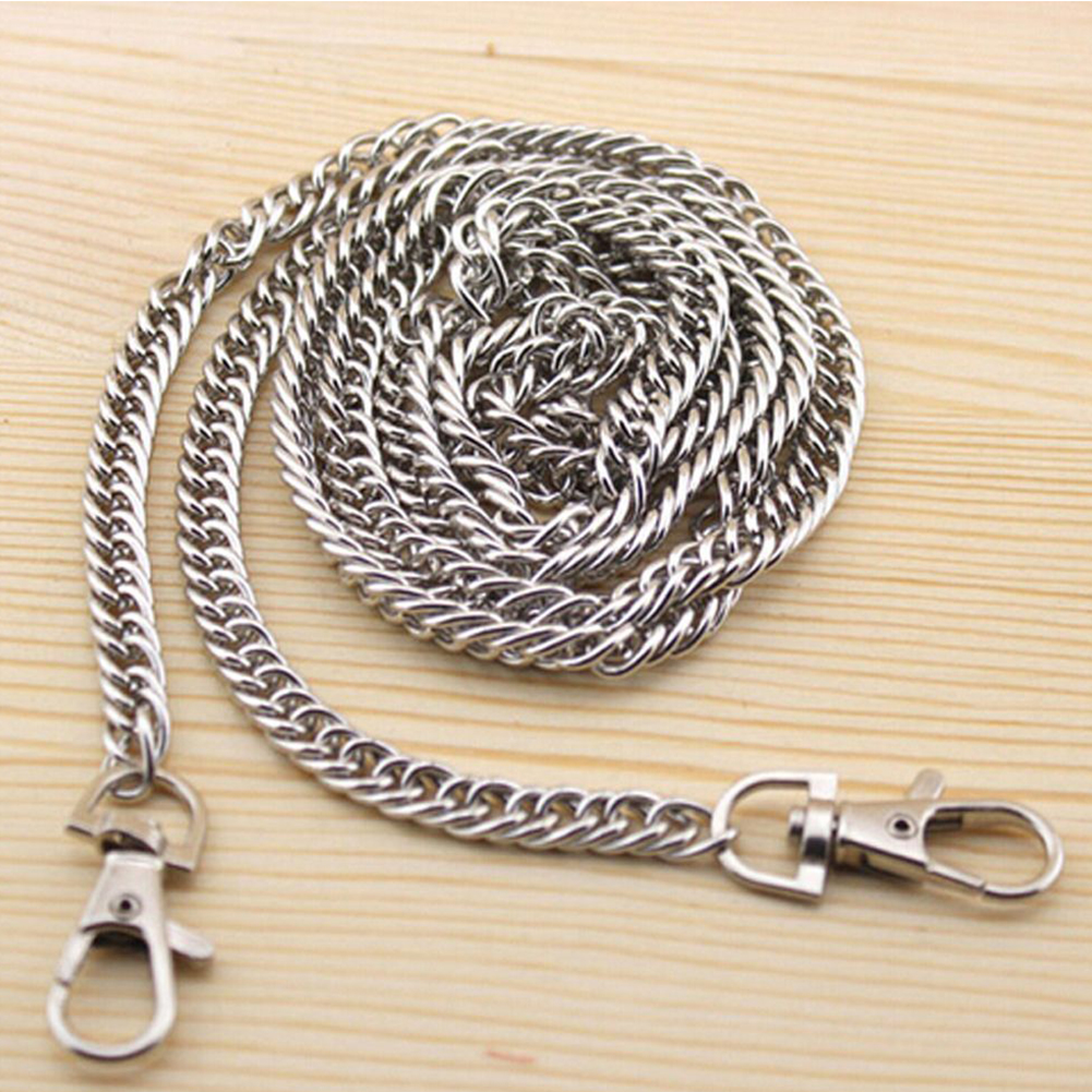1pc 100cm DIY Bag Chain Metal Hardware Purse Accessories Fashion Multi Use Long Replacement Belt Handbag Strap Practical Handle