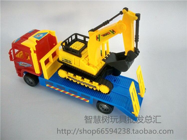 China Continental 10 yuanes vehículo de ingeniería excavadora Tractor China Continental 10 yuanes con excavación