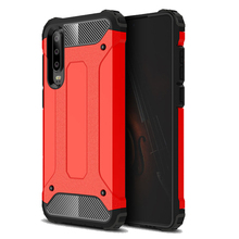 Luxury Silicone Shockproof Phone Case for Huawei P30 Case Rugged Armor Cover Huawei P30 lite P30 Pro Bumper Cases shockproof case for huawei p30 lite metal fundas for huawei p30 pro armor phone cover for huawei p30 rugged case p30 pro capa