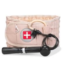 Descompressão apoio lombar cinto cintura cinta de tração ar espinhal volta alívio cinto backach liberação de dor massageador unisex
