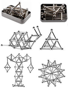 Magnets-Cube Puzzle-Toys Building-Blocks Innovative Magic Metal Children Steel-Balls-Set