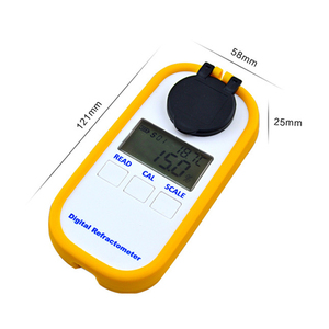 Image 3 - Réfractomètre numérique à miel 0 90% Brix réfractomètre Baume mètre détecteur de teneur en eau outil de Test de pureté du miel