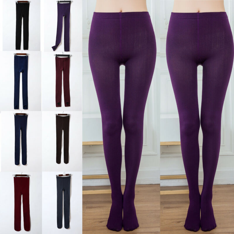 Brand New Women Cable Knit Fleece Footless Winter Warm Stretch Thick Skinny Lined Legging Solid Super Warm Leggings