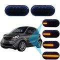 Для Smart Fortwo Coupe 453 для двух кабриолетов 453 светодиодный динамический боковой указатель поворосветильник ошибок