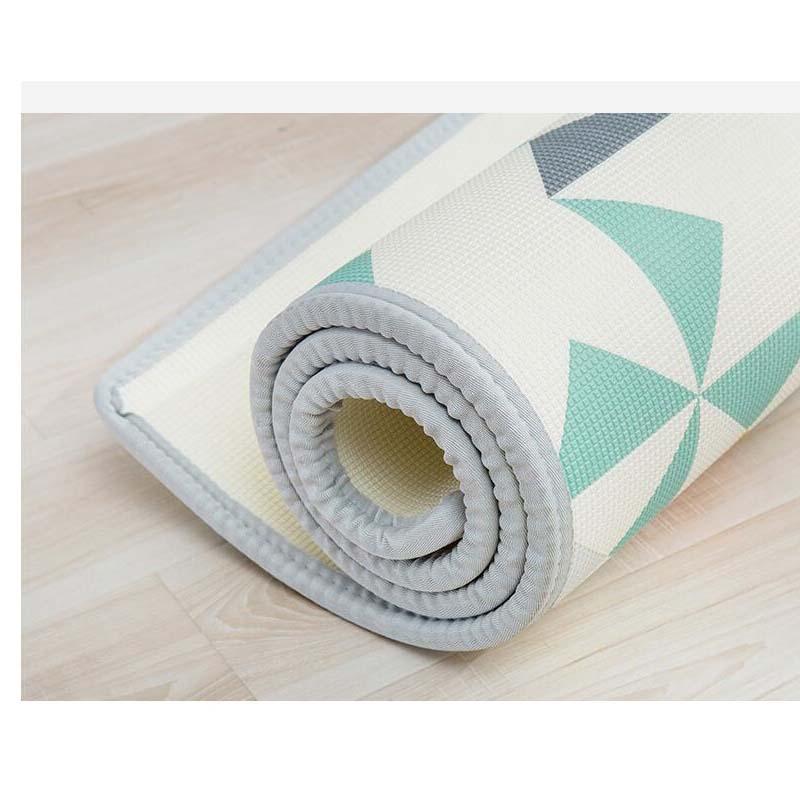 XPE bébé ramper tapis épaississement 200*180*2CM bébé escalade tapis enfants mousse tapis de jeu jouet enfants tapis d'activité tapis jouets - 4