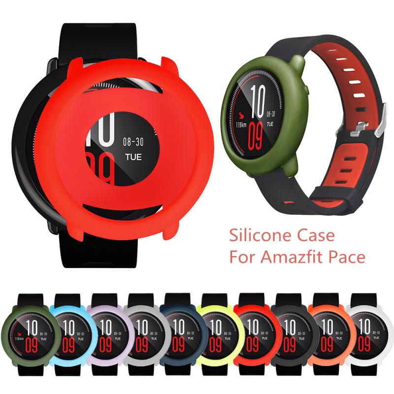 Soft Protector Case For Xiaomi Huami Amazfit Pace Replacement TPU Full Edge Watch Protective Cover Case For Amazfit Pace