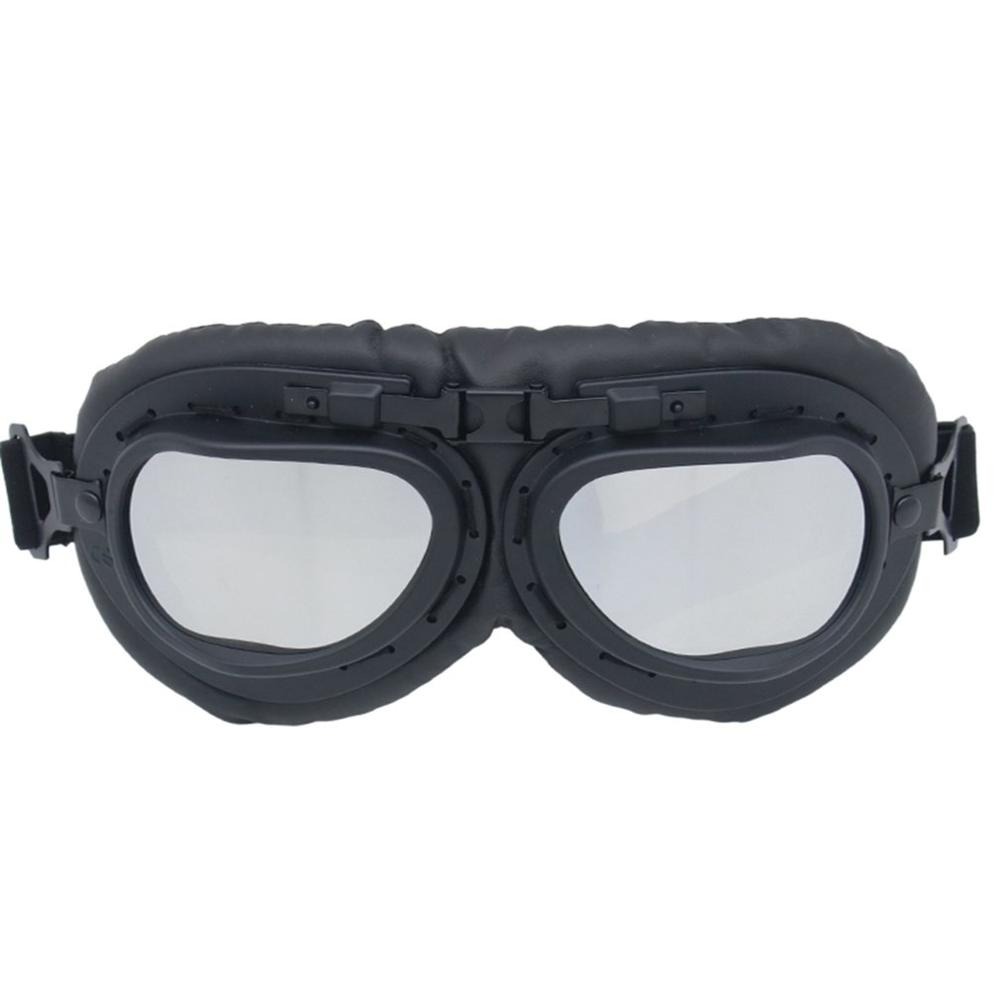 Motorcycle Goggles Retro Windshield Decorative Glasses 317 Essential Accessories Dropshipping