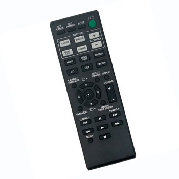 New Replaced Remote Control For SONY CMT-GPX6 SS-GPX33 MHC-GPX33 HCD-GPX33 MHC-GPX55 MHC-GPX77 MHC-GPX88 Stereo Audio System фото