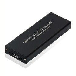 USB3.0 к Mac SSD корпус USB3.0 алюминиевый сплав SSD корпус для 2013/2014/2015 MacBook Air/Pro/Retina для Apple SSD корпус коробка