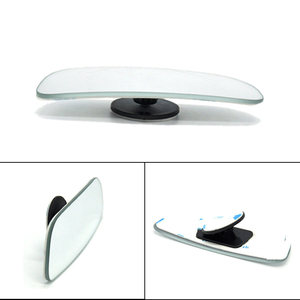 Image 4 - 2Pcs Car Blind Spot Mirror 360 Degree Adjustable Wide Angle Convex Rear View Mirror Car Parking Rearview Mirror round long