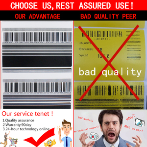 Image 2 - (ซื้อหลักไดรฟ์เข็มขัด)  หัวพิมพ์สำหรับ zebra ZM400 200dpi Thermal barcode printer printer printer PN 79800M