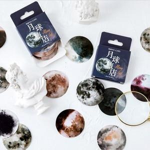 46 шт. Вселенная Космос планеты DIY наклейки для рукоделия Подарочная открытка ручной работы милое украшение для альбома сделай сам