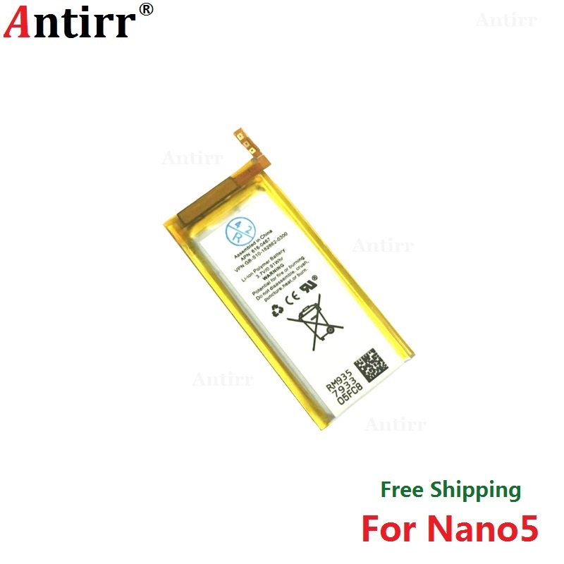 Replacement Battery for Apple iPod Nano 5th Gen 3.7 V/0.91 WHR Li-Polymer Rechargeable Battery(China)