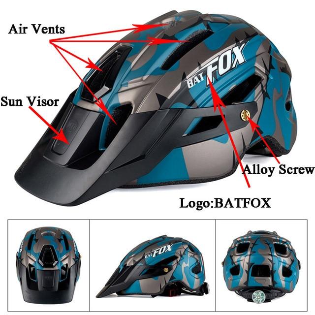 2019 corrida capacete de bicicleta com luz in-mold mtb estrada ciclismo capacete para homens mulheres ultraleve capacete esporte equipamentos de segurança 4
