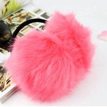 Fluffy Earmuffs Ear-Warmers Protect Winter Accessories Ears Plush Women Outdoor Soft