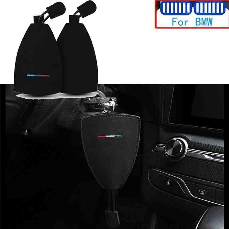 Автомобильная эмблема алькантара брелок для ключей чехол bmw