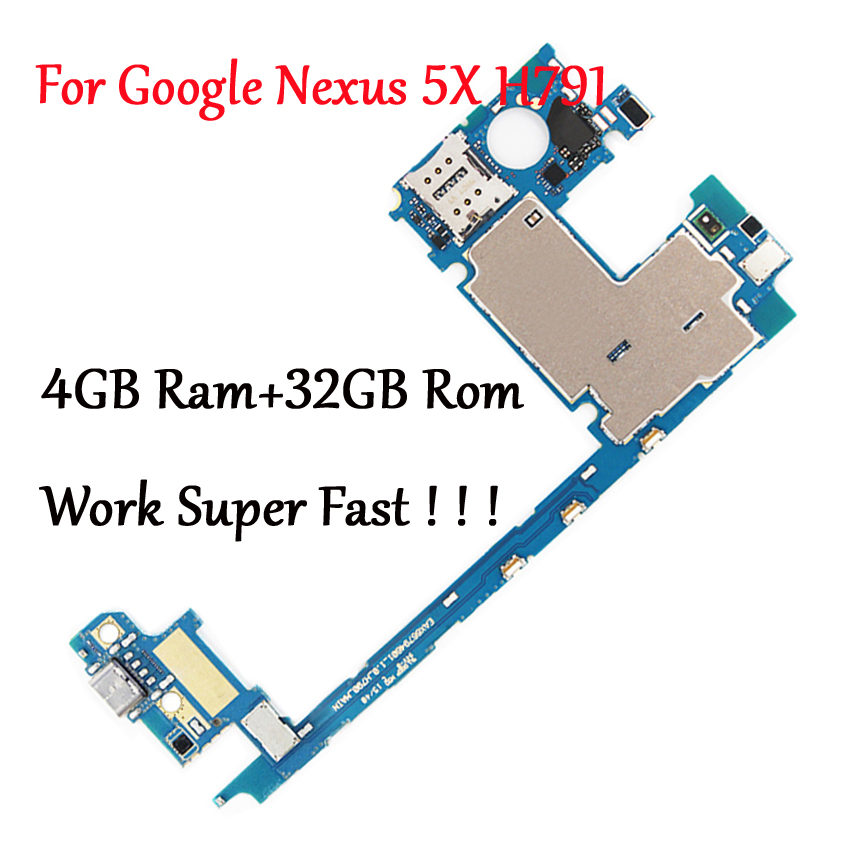 Tested Full Work Original Motherboard For LG Google Nexus 5X H791 H790 32G  Logic Circuit Board Plate Change to 4GB RAM Work Fast| | - AliExpressGlobal Online Shopping for Apparel, Phones, Computers, Electronics, Fashion  and more on AliExpress
