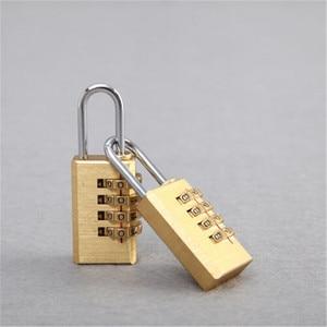 Digits Number Mini Padlock Brass Combination Lock Password Lock Password Code Lock Cupboard Cabinet Locker Padlock 2020