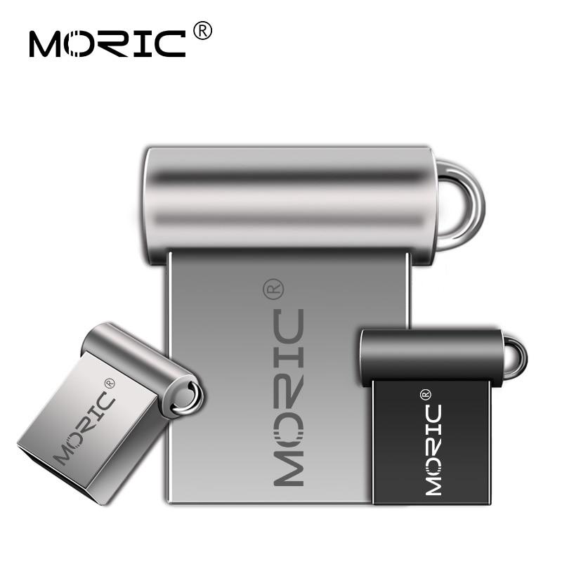 Real Capacity Pendrive 4GB 8GB USB Stick Metal Pen Drive 32GB Flash USB 2.0 High Speed USB Flash Drive 64GB Transcend U Disk