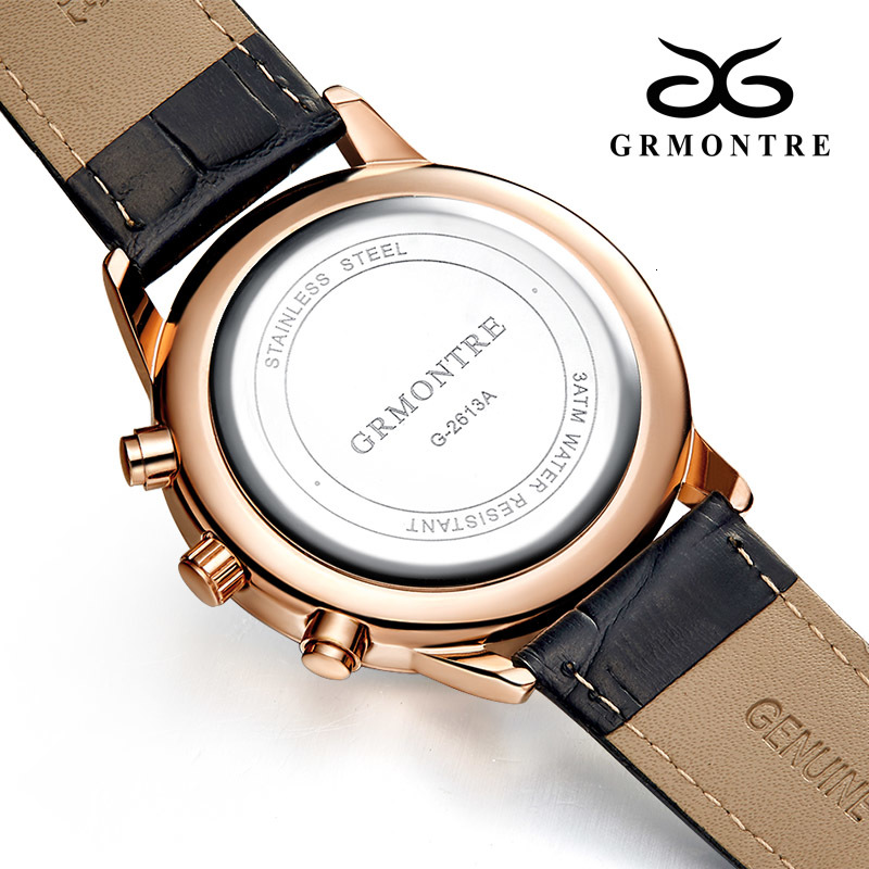 H8f9796a9e5c6407891562319f638b6b5O Watch Chronograph Army Military Quartz Watches GRMONTRE