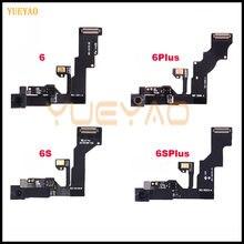 Передняя камера для iPhone 6 6S 6plus 6splus 6SP, фронтальная камера, правый датчик приближения, гибкий кабель