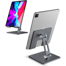 Soporte de escritorio ajustable para tableta, base plegable para iPad Pro 12,9 11 10,2 Air Mini 2020 Samsung Xiaomi Huawei