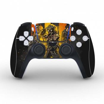 Apex Legends Protective Cover Sticker For PS5 Controller Skin For Playstation 5 Gamepad Decal PS5 Skin Sticker Vinyl 2