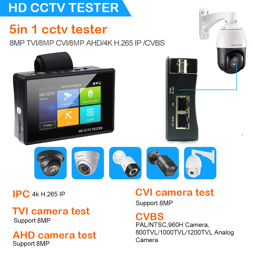China cctv tester Suppliers