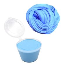 Universal Stress Relief Fluffy Floam Slime Craft Mud Toy Lightweight No Borax Cotton Slime Clay Portable Modeling Clay цена 2017