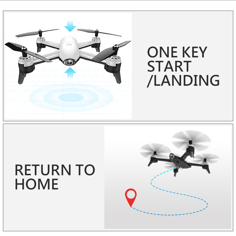 SG106 WiFi Drones With Camera 4K Dual Camera Optical Flow Aerial Video Helicopter RC Quadcopter For Toys Kid RTF Dron 4k Drone 3