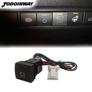 Image 1 - For Toyota RAV4 2019 2020 Camry 2018 Avalon Car Reverse Camera Switch Auto Original Camera View Control Button Accessories