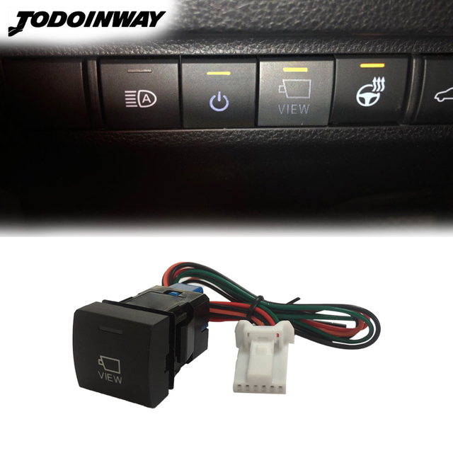 For Toyota RAV4 2019 2020 Camry 2018 Avalon Car Reverse Camera Switch Auto Original Camera View Control Button Accessories