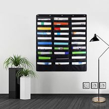 30 Pocket Storage Pocket Chart Hanging Wall File Organize Your Assignments Files Scrapbook Papers