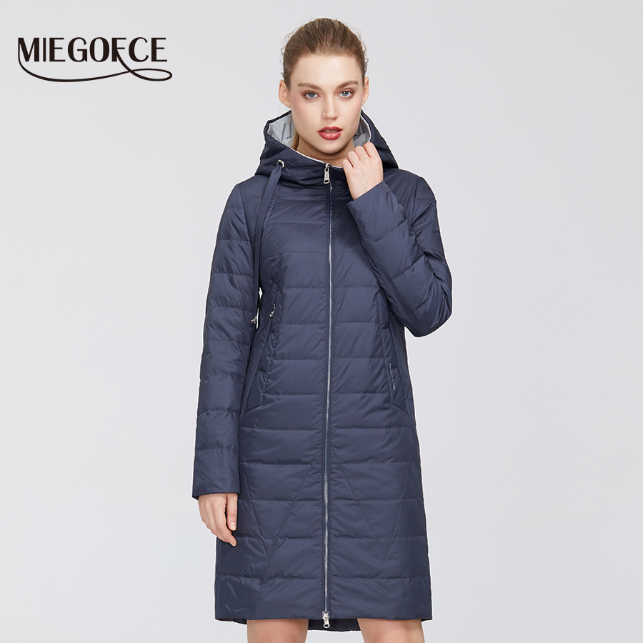MIEGOFCE 2020 New Design Spring Jacket Women's Coat Windproof Warm Female Parka European and American Female Model Women's Coat 3