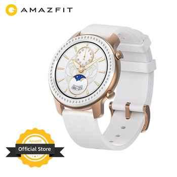 En Stock paillettes édition nouvelle Amazfit GTR 42mm montre intelligente 5ATM femmes watch12 jours batterie contrôle de la musique pour téléphone Android IOS