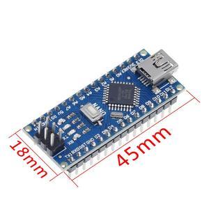 Image 2 - ננו מיני USB עם מנהל האתחול תואם לarduino Nano 3.0 בקר CH340 USB נהג 16Mhz ננו v3.0 ATMEGA328P