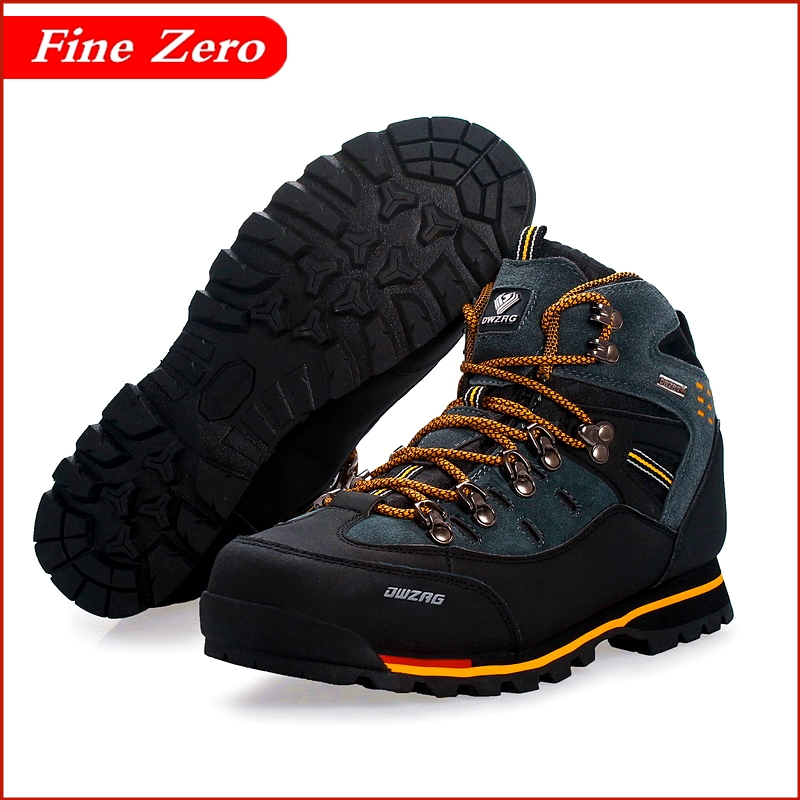 High Top Men's Boots Male Rubber Combat Ankle Work Safety Oxfords Autumn Winter Snow Boots Men Sneakers Outdoor Sports Shoes