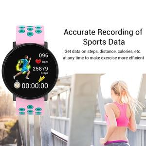 Image 3 - GEJIAN nowy inteligentny zegarek Android wodoodporny sport mężczyźni i kobiety smartwatches zdalny aparat tętno zegarek na rękę